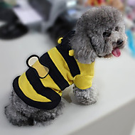 Costume / Manteaux / Pulls à capuche-Chat / Chien-Hiver-Jaune-Cosplay Animal / Rayure- enCoton