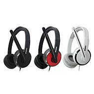 Somic PC566 Fashionabla Gaming Over-Ear hörlurar med mikrofon och fjärrkontroll för PC