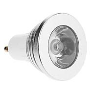 GU10 3w RGB 빛이 리모컨으로 자리 전구를 주도 (교류 85-265V)