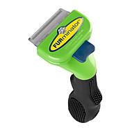 herramientas de pelo y aseo de pieles verdes para mascotas
