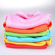 犬用品 - 夏 コットン - Tシャツ - レッド / ブルー / ピンク / オレンジ / グリーン / イエロー - XS / M / XL / S / L