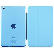 The intelligent dormancy case with stand for iPad 2/3/4 (Assorted Colors)