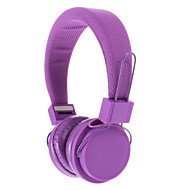 EX09I 3.5mm stereo High Quality On-ear hovedtelefoner til PC/MP3/MP4/Telephone (Purple)