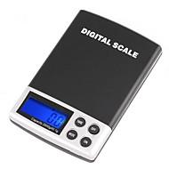 צג LCD 2000g/0.1g Digtal Pocket סולם אלקטרוני