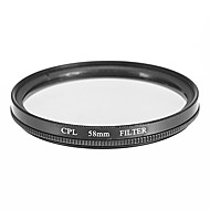 CPL-Filter für die Kamera (58 mm)
