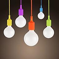 sl® mini privjesak, 1 svjetlo, moderni minimalistički silikonski bombona boje