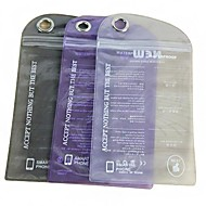 Solid Color Waterproof Plastic Bag for iPhone 4/4S (Random Color)