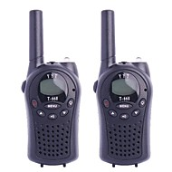 T-668 0,5 W 4V FRS 22-Channel Walkie Talkie for Barn (2-Piece)