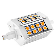 R7S 5 W 24 SMD 5050 300 LM Warm White Dimmable Corn Bulbs AC 110-130 V