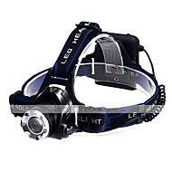 Lights Headlamps LED 1200 Lumens 3 Mode Cree XM-L T6 AA Waterproof Camping/Hiking/Caving / Cycling/Bike / Multifunction Aluminum alloy