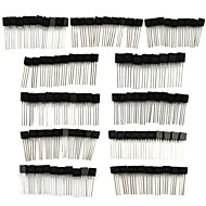 BONATECH Commonly Used Small Power Transistor Set (110 PCS)