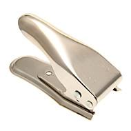 CMPICK Micro + Nano SIM Card Cutter for iPhone 4 / 4S / 5 - Silver