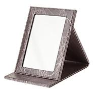 Sminkeoppbevaring Speil 16.5*12.2*1.7 Rød