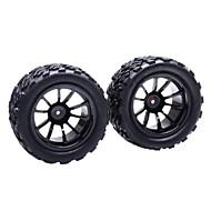 HSP Jantes et pneus pour Off Road Truck 1:10 (2 pièces)