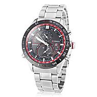 Men's Racing Dial Steel Band Quartz Wrist Watch (Assorted Colors) Cool Watch Unique Watch