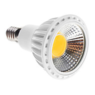 E14 5W 1 COB 450-480 LM Warm White LED Spotlight AC 100-240 V