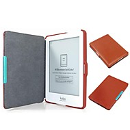 Ultra Thin Protective Magnetic Wake-up/Sleep PU Hard Case Cover for Kobo-glo