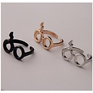 Fashion Harry Potter Unique Delicate Cute Eyeglass shape Finger Ring*1pc