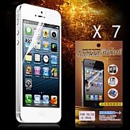 Beskyttende HD Beskyttelses for iPhone 5/5S (7stk)