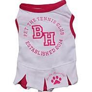 Lovely BH Pattern Vest Dress for Pets Dogs (Assorted Sizes)