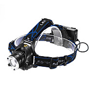 Focus reglabil 3-Mode 1xCree XM-L T6 impermeabil Far (2x18650, 1200LM)