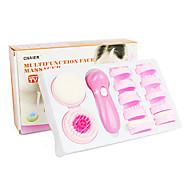 Multifuncional dispositivo eléctrico del masaje de cara de belleza Limpiador facial AE-8781