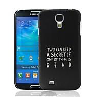 Pretty Little Liars Quote Muster Kunststoff Hard Schutzhülle für Samsung i9500 Galaxy S4