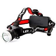 800 lumenów CREE XM-L T6 XML Reflektor Reflektor LED Akumulator
