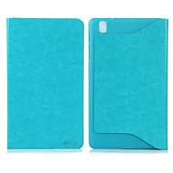 Enkay Yksinkertainen Suojaava PU Leather Case telineellä Samsung Galaxy Tab 3 Pro 8.4 T320