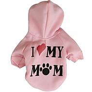 ชอบสไตล์แม่ของฉัน hoodies fleeces สำหรับสุนัข (คละสีคละขนาด)