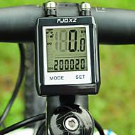 FJQXZ impermeable LCD Wireless Negro bicicletas Velocímetro / Cronómetro