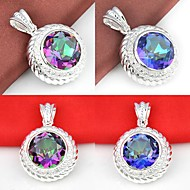 Silver Pendants Wedding / Party / Daily / Casual Jewelry