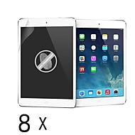 [8-Pack] Protecteur d'écran anti-empreintes digitales de haute qualité pour l'air iPad