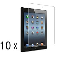 [10-Pack] Protections d'écran Effacer Premium Haute Définition pour iPad 2/3/4