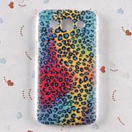 Mert Samsung Galaxy tok Minta Case Hátlap Case Leopárd minta PC Samsung Win