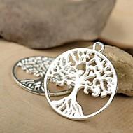 Eruner®29*25MM Alloy Life Tree Charms Pendants Jewelry DIY (5PCS)
