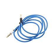 1.2M 4ft Auxiliary Aux Audio Kabel 3.5mm Jack Mand til Mand Cord