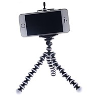 Flexible Tripod Mount Holder with 48mm to 78mm Width Extendable Cradle for iPhone/Samsung
