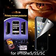 heijastamaton yksityisyyden näytönsuoja iPhone 5/5s/5c