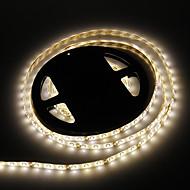 Vandtæt 5M 24W 60x3528SMD 900-1200LM 3000-3500K varm hvid lys LED Strip Light (DC12V)