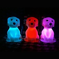 Coway Kleurrijke Pug LED Night Light Kerst Supplies Lovely