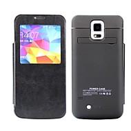 Krachtige batterij achterkant van de behuizing voor Samsung Galaxy S5 (3800mAh)