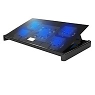Superbpag® USB2.0 Cooler Cooling Pad for Notebook Laptop (Up to 17-Inch)