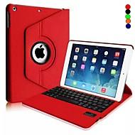 PU-Lederetui Bluetooth Tastatur für iPad Luft (farblich sortiert)