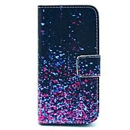 Varten iPhone 5 kotelo Lomapkko / Korttikotelo / Tuella / Flip / Kuvio Etui Kokonaan peittävä Etui Liukuvärjätty Kova TekonahkaiPhone