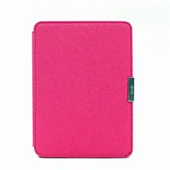6 inch PU Wake-up/Sleep Case voor Kindle Paperwhite