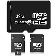 32GB Clase 10 SD/SDHC/SDXC / MicroSD/MicroSDHC/MicroSDXC/TF / Adaptadores y cajasMax Read Speed10 (MB/S)Max Write Speed10 (MB/S)