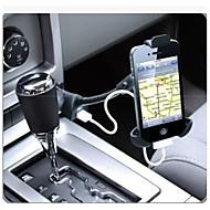 supporto del telefono dell'automobile / singola porta usb / sigaretta caricabatteria per auto 5v supporto del telefono 1.5