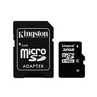 Kingston 32GB Clase 4 MicroSD/MicroSDHC/MicroSDXC/TFMax Read Speed8 (MB/S)Max Write Speed4 (MB/S)