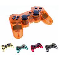 Transparent trådløse Bluetooth DUALSHOCK ® 3 Sixaxis genopladelige controller joypad til PS3